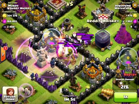Awesome Clan Castle Witch Defense