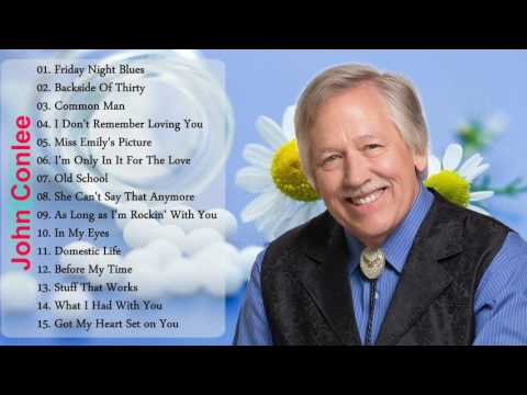 John Conlee Best Songs New | John Conlee Greatest Hits Playlist {New Cover}