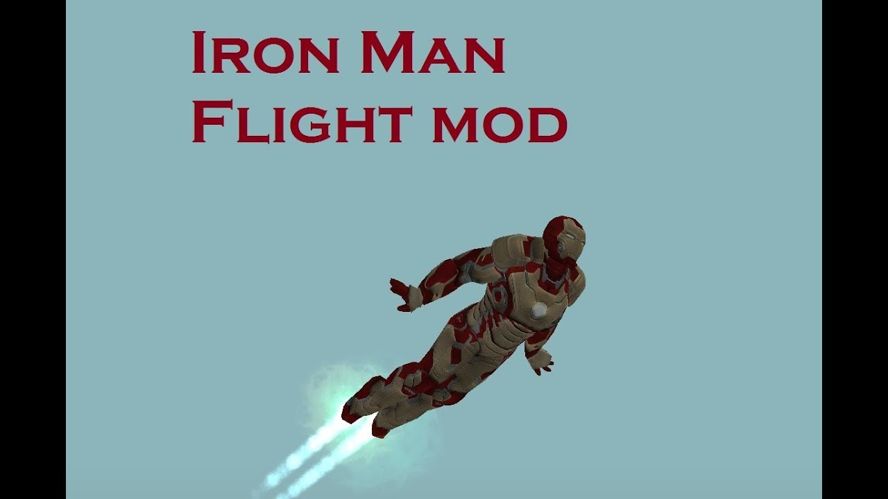 how to make iron man fly in gta san andreas