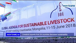 Livestock experts from 34 countries discussed sustainability