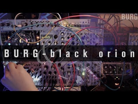 BURG - black orion (digitakt, avalon bassline, korg volca, modular)