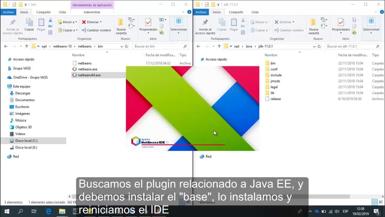 Instalando Apache NetBeans 10 con Java Enterprise