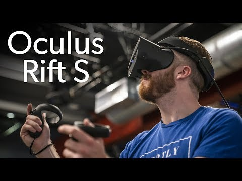 Trying out the Oculus Rift S