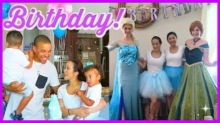 THE BEST DISNEY FROZEN BIRTHDAY PARTY!