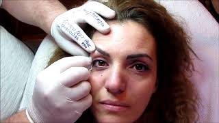 Tatuaj ochi. Galerie cu 2000 video http://www.machiajtatuaj.ro Zarescu Dan $DO M6441