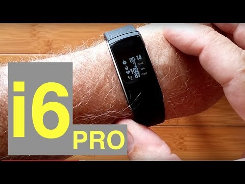 "iWOWNfit i6 Pro ""FitBit Like"" Fitness Tracker Smart Band: Unboxing and Review"