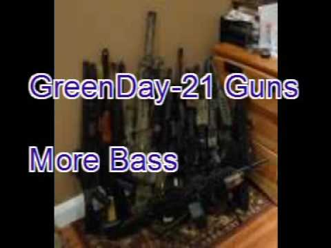 Green Day- 21 Guns- More Bass