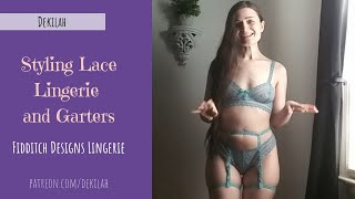Styling Lace Lingerie and Garters