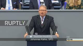 Germany: SPD's Kahrs slams 'sad' AfD, causes Bundestag walkout