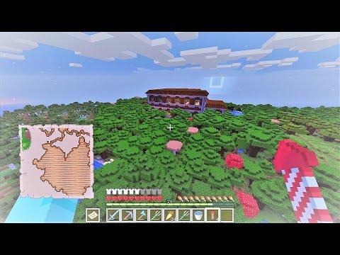 Minecraft sinh tồn 1.13.2 #35: Biệt Thự Trong Rừng Sâu