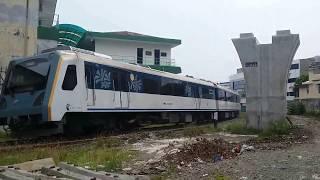 Palang Pintu Perlintasan Kereta Bandara Di Pasar Baru Medan Kota (Railway Crossing In Pasar Baru)