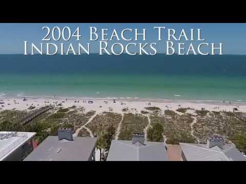 Beach Front Home For Sale in Indian Rocks Beach Florida