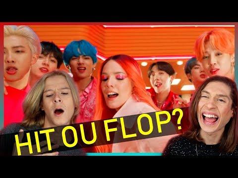 REACT BTS Boy With Luv feat Halsey&39;  MV Reação e Comentários