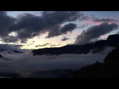 Stegastein Aurland Flåm Timelapse Sunset Norway