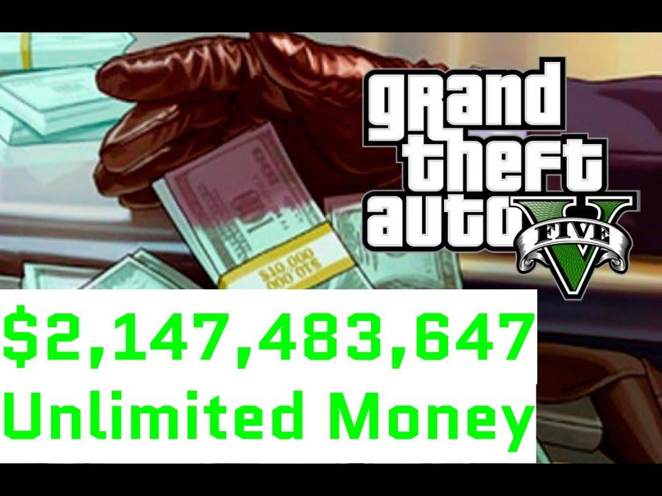 5 Unlimited Money Gta Code