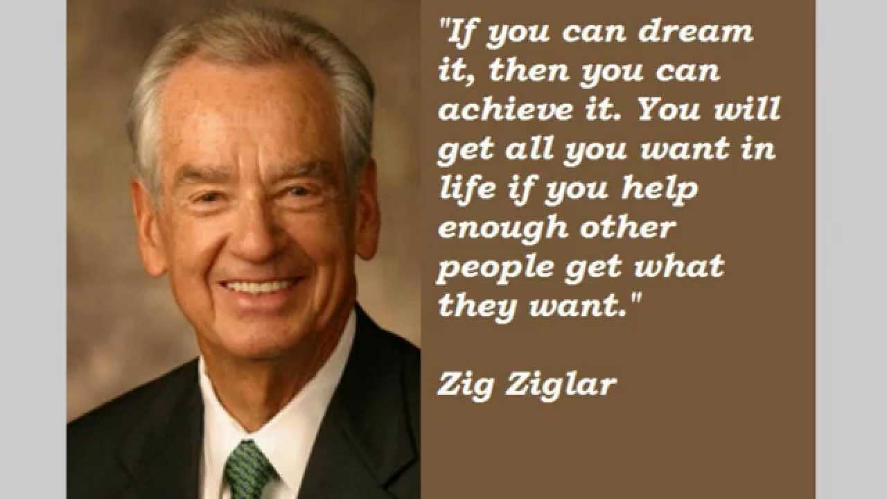 Quotes Zig Ziglar Zig Ziglar Quotes  Youtube