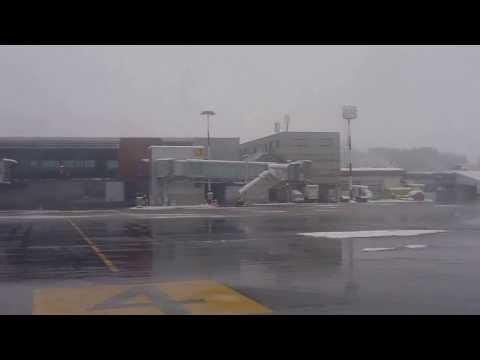 SLOVENIA   Landing in Ljubljana - Ljubljana International Airport arrival [HD]