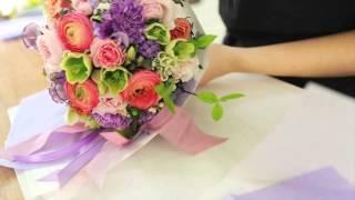 Свадебный букет мастер-класс