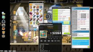 MapleStory Cubing- Gold Maple Leaf Emblem And Secondary