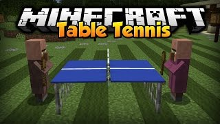 Minecraft: Table Tennis [Custom Command]