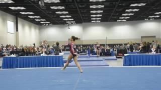 Lauren Navarro - Floor Exercise - 2017 Women's Junior Olympic Championships