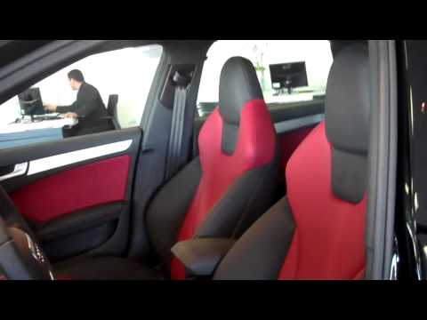 2012 Audi S4 with Magma Red interior