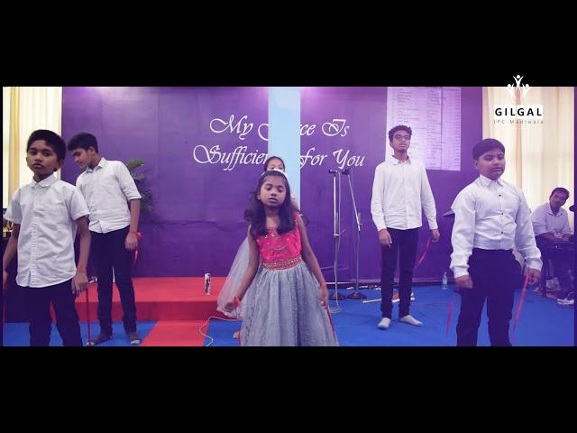 It's About the Cross | Action Song | Gilgal Sunday School | Gilgal IPC Madiwala Bengaluru