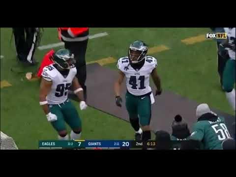 Ronald Darby intercepts Eli Manning