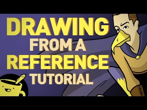 How to Draw Using a Reference Image