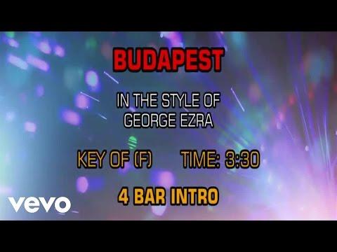 George Ezra - Budapest (Karaoke)