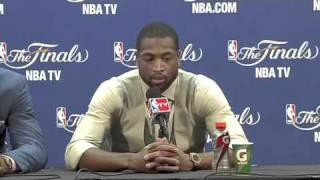 LeBron James Arrogant Answer to his Haters along with Dwayne Wade