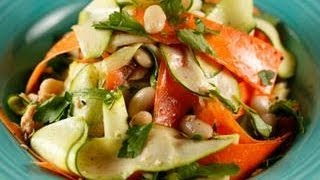 Sunny Anderson's Salmon and Zucchini Lemon Dijon Salad
