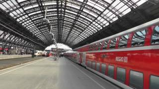 zge hbf kln treinen keulen cs trains cologne central station 1 april 2013 part 1 of 6