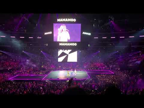 KCON LA 2019 MAMAMOO - Décalcomanie Fancam
