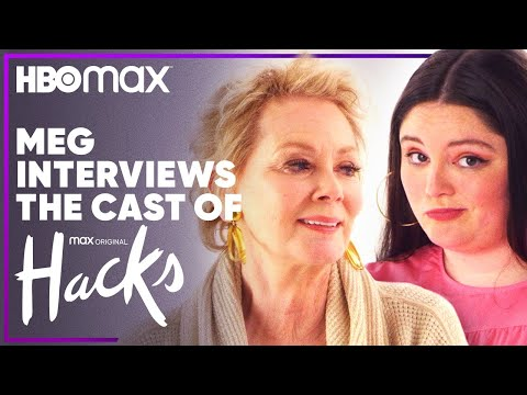 Hacks | Meg Stalter Interviews the Cast of Hacks | HBO Max