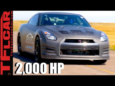 2000 HP & 250 MPH: How Fast Can a Tuned Nissan GT-R Go Over 1 Mile ...