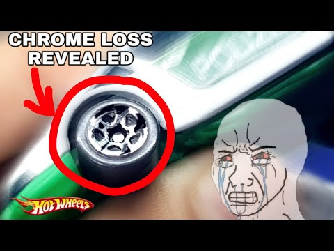 HERE'S WHY THERES CHROME LOSS ON YOUR HOT WHEELS