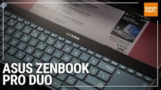 Asus Zenbook Pro Duo - unboxing