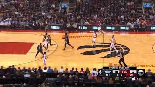 Toronto Raptors 130-122 New Orleans Orléans Pelicans FULL GAME