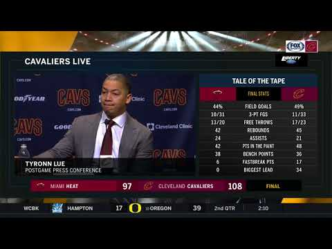 Ty Lue jokes he's not going against the refs, on LeBron's ejection: