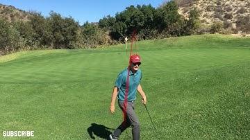 18 Holes at Black Gold Golf Vlog