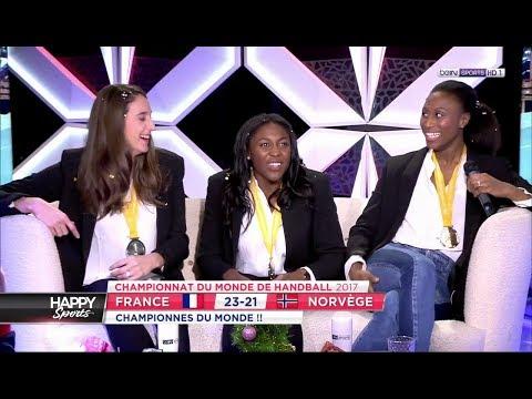 L'equipe de France dans Happy Sports [2017-12-18]