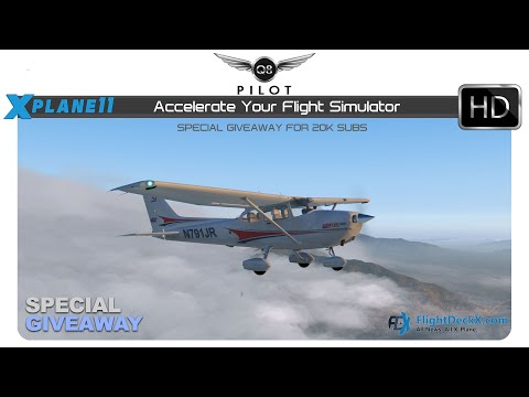 [X-Plane] Accelerate Your Flight Simulator with a Super Graphics Card | Giveaway 1