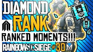 RAINBOW SIX SIEGE - RANKED MOMENTS #30 - Diamond Ranked Squad - Pro League Players