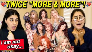 """TWICE """"MORE & MORE"""" M/V REACTION!"""