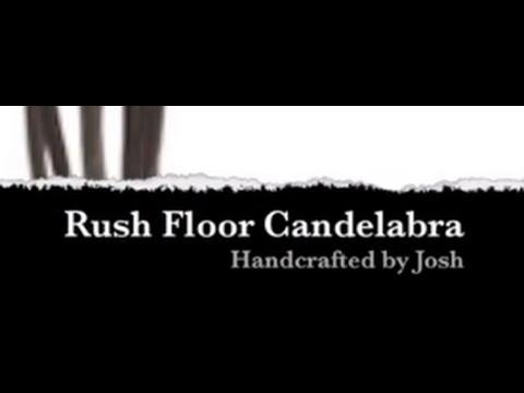 How It's Made - Rush Floor Candelabra