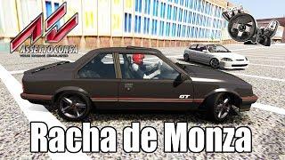 Assetto Corsa - Rolê na Rua + Racha de Monza 2.0, Civic Type R e Golf GTI MK3(G27 mod)