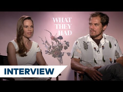 Hilary Swank & Michael Shannon On The Key To Their OnScreen Chemistry In What They Had  TIFF 2018