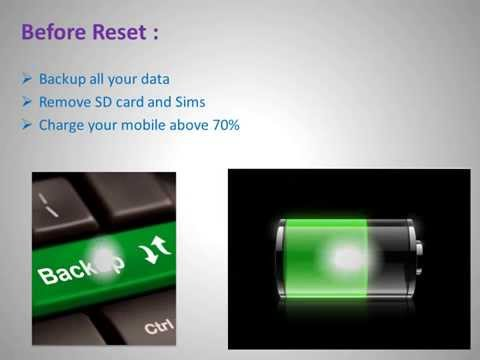 How to Hard Reset Samsung Captivate Glide and Forgot Password Recovery, Factory Reset