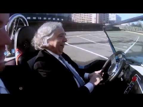 Secretary Moniz Test Drives the 3D Printed Shelby Cobra